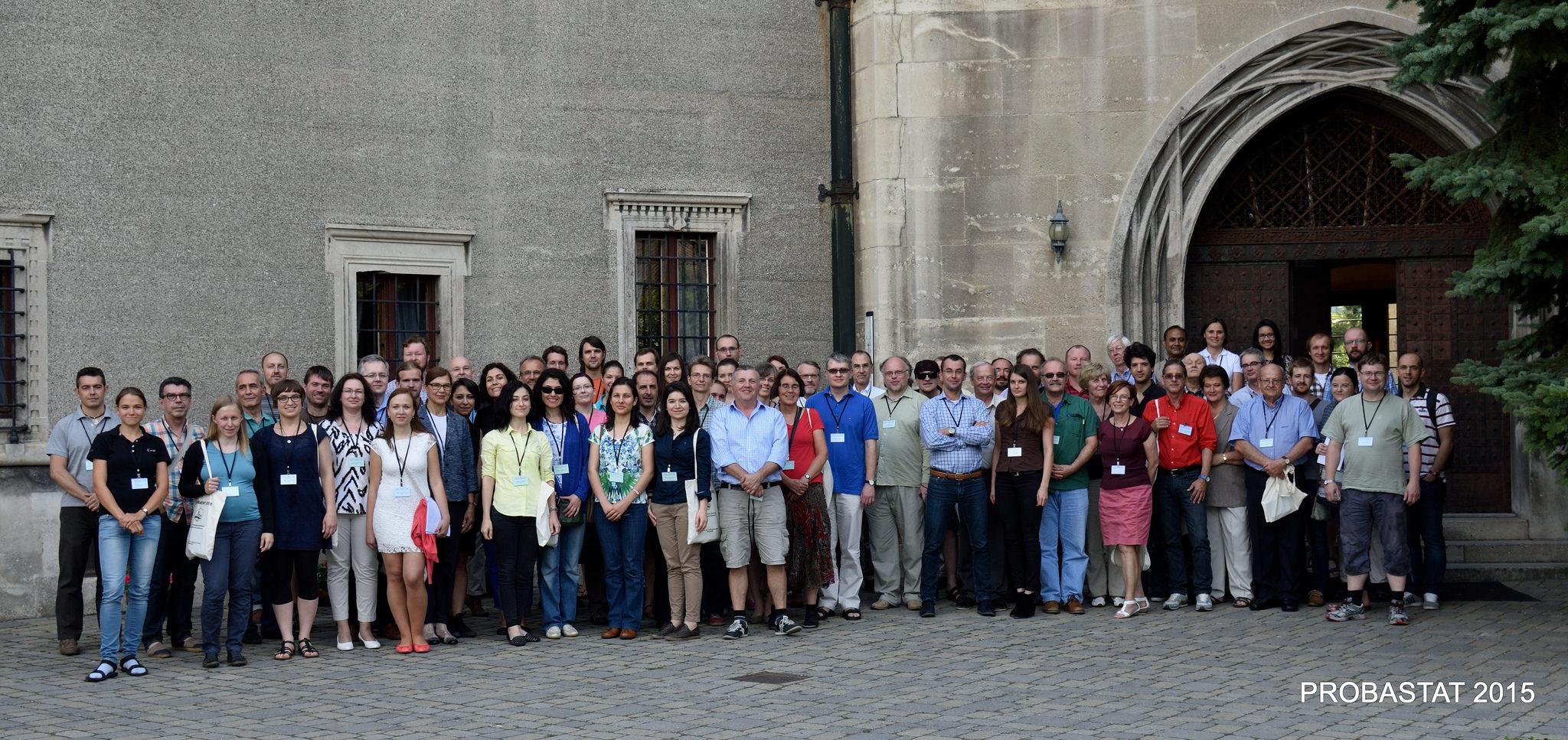 Probastat 2015 - účastníci